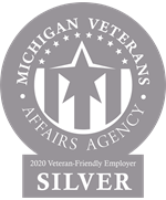 Silver-level award from Michigan Veterans Affairs Agency