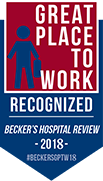 Great place to work award recognized in 2018
